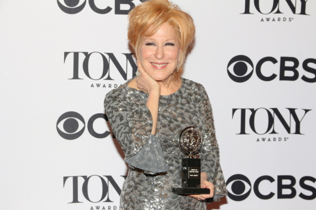 Bette Midler won the 2017 Tony Award for Best Performance by a Leading Actress in a Musical for her performance in Hello, Dolly!