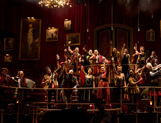 Ensemble members from The Great Comet will receive this year's ACCA Award.