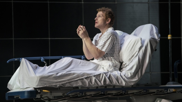 Andrew Garland as Prior in Angels in America, presented by New York City Opera.