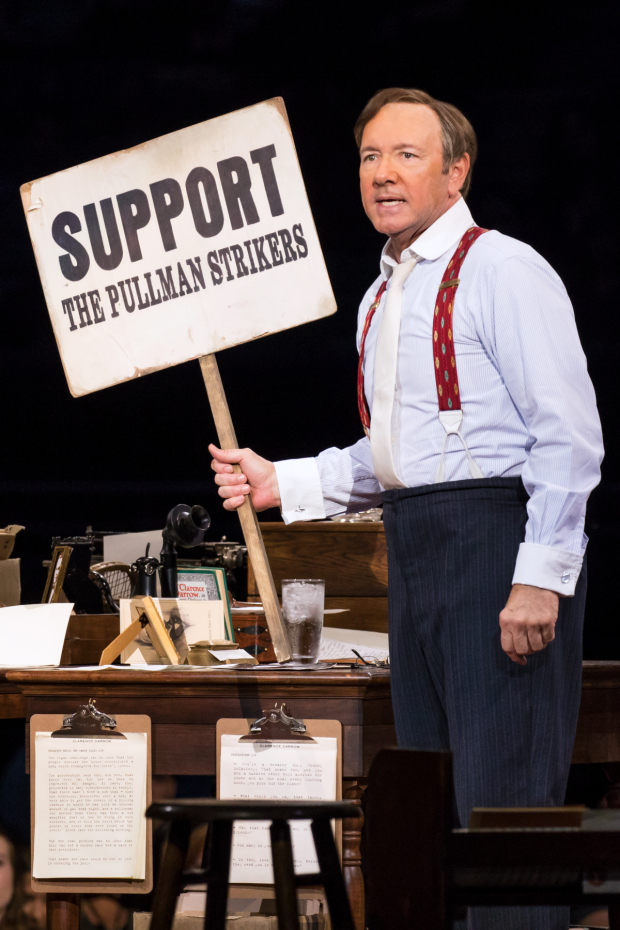 Kevin Spacey previously performed the show at London's Old Vic Theater.