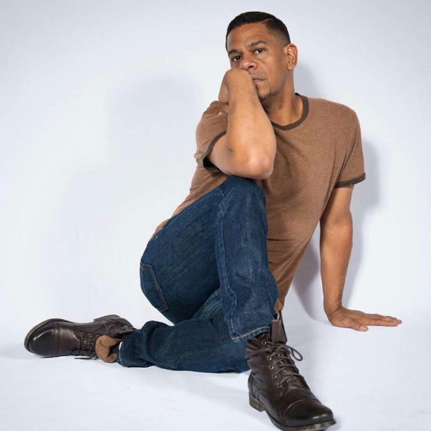 Andres Rodriguez stars in Growing Up Gonzales at the Actors' Temple Theater.