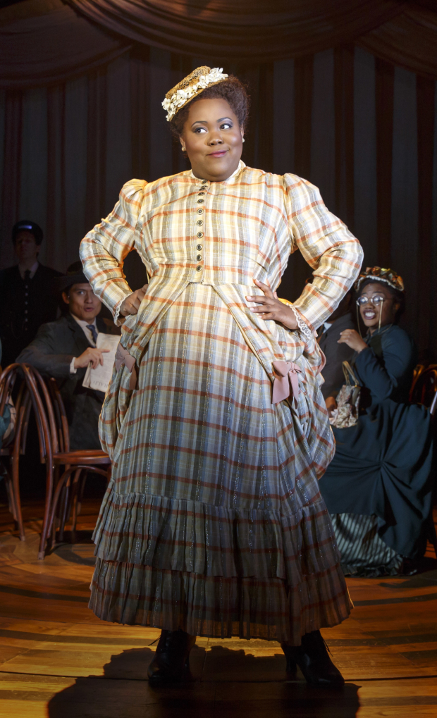 Ashley D. Kelley stars in the title role of Kirsten Childs's Bella at Playwrights Horizons.