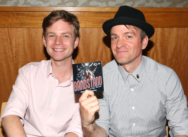 James Nathan Hopkins and Geoff Packard represent Bandstand.