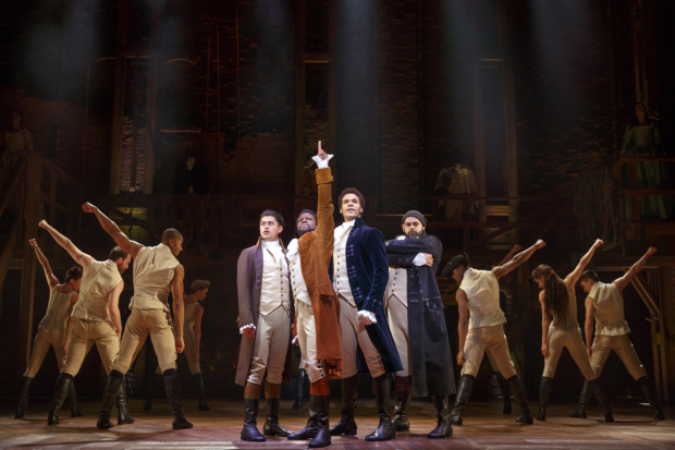 Stephen Curry performs 'Hamilton' song with Lin-Manuel Miranda