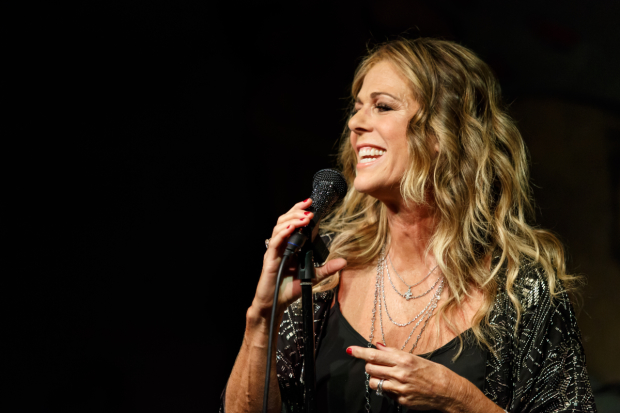 Rita Wilson during her 2014 concert at the Café Carlyle.