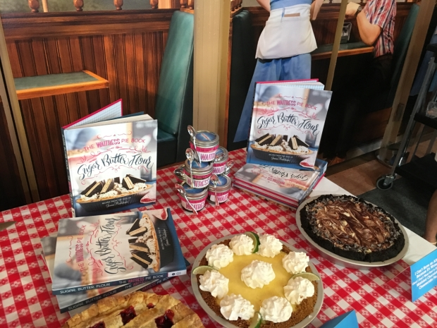 Sugar, Butter, Flour: The Waitress Pie Cookbook is available in bookstores now.
