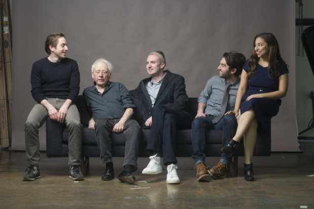 The cast of The Workshop.