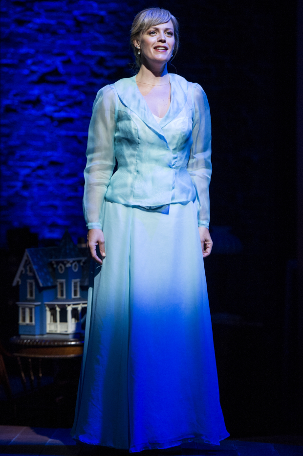 """Elizabeth Stanley as Mother sings some some of Ragtime's moving numbers, including """"Goodbye, My Love,"""" """"What Kind of Woman,"""" and the showstopping """"Back to Before."""""""