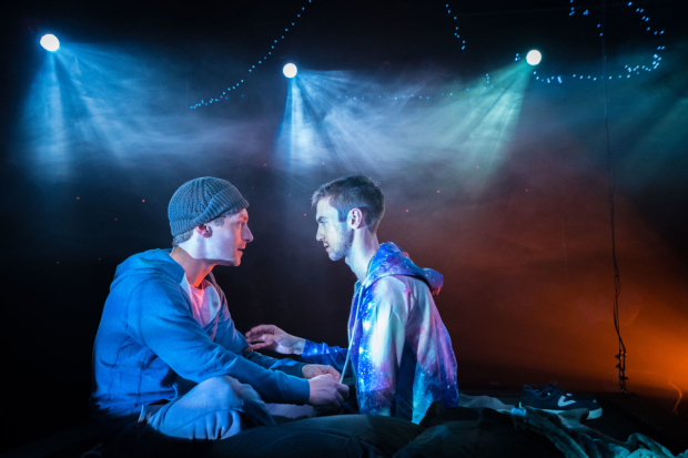Robbie Simpson and Brandon Haagenson star in S. Asher Gelman's Afterglow, which will extend its world premiere run until August 19.