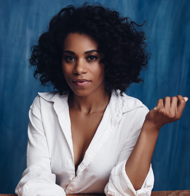 Kelly McCreary stars as Esther Mills in Lynn Nottage's drama Intimate Apparel, directed by Scott Schwartz, at the Bay Street Theater.