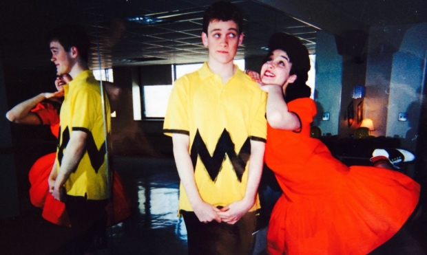 Alexandra Silber and Michael Arden in You're a Good Man, Charlie Brown at Interlochen Arts Academy.