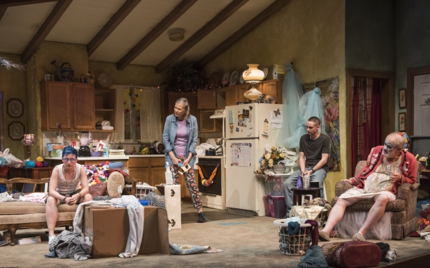 A scene from Hir, directed by Hallie Gordon, at Steppenwolf Theatre.