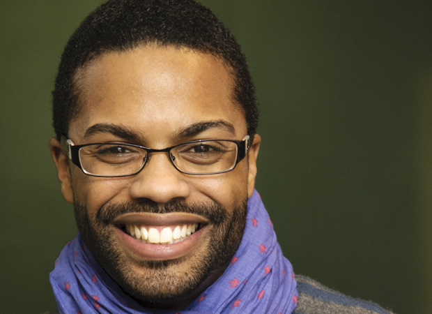 Harrison David Rivers, playwright of Where Storms Are Born.