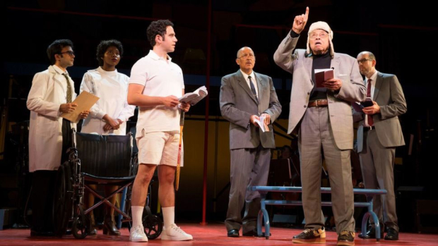 The cast recording of God Bless You, Mr. Rosewater to be released on July 28 is based on New York City Center's Encores! Off-Center production back in 2015.