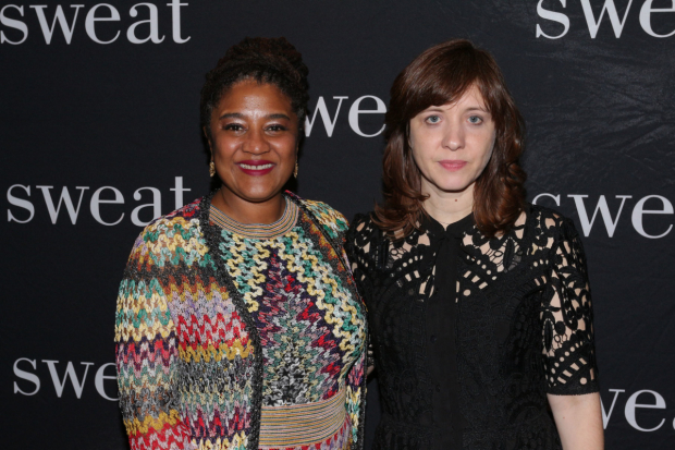 Lynn Nottage, left, and director Kate Whoriskey, right, are two of the creative minds behind This Is Reading, a multimedia installation inspired by Nottage's play Sweat.