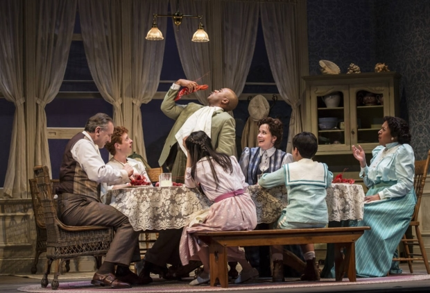 The cast of Ah, Wilderness!, directed by Steve Scott, at the Goodman Theatre.