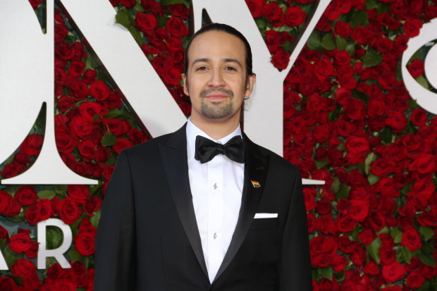 Lin-Manuel Miranda has received an Emmy nomination for his guest appearance on Saturday Night Live.