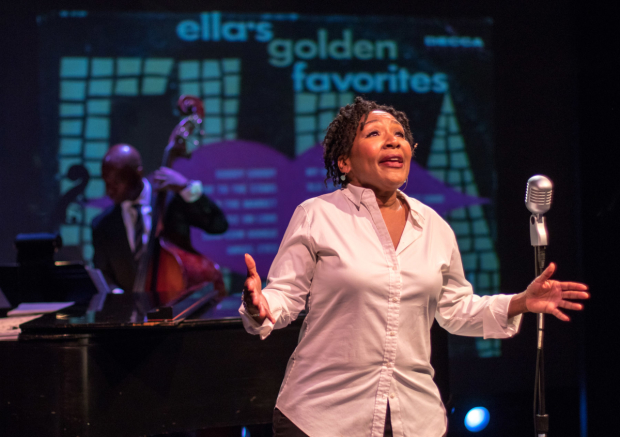 Andrea Frierson stars in Me & Ella, directed by Murphy Cross and Paul Kreppel, at York Theatre Company.