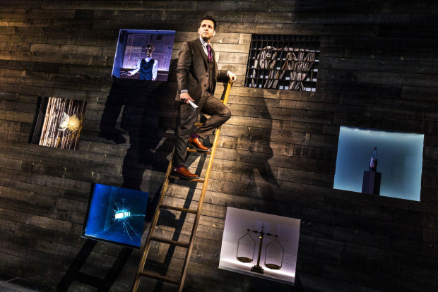 Derek DelGaudio will perform In & Of Itself at the Daryl Roth Theatre through December 30.