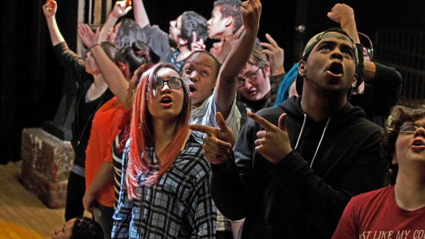 The REBEL VERSES Youth Arts Festival will begin at the Vineyard Theatre later this month.