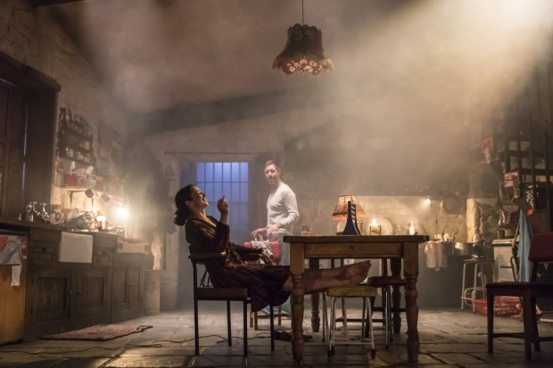 Laura Donnelly and Paddy Considine in Jez Butterworth's The Ferryman, directed by Sam Mendes.