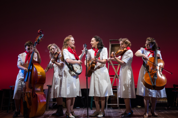 The cast of The Goree All-Girl String Band, directed by Ashley Brooke Monroe.