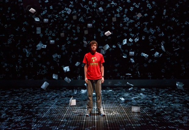 Adam Langdon as Christopher in The Curious Incident of the Dog in the Night-Time, which will soon be stopping in Los Angeles on its North American tour.