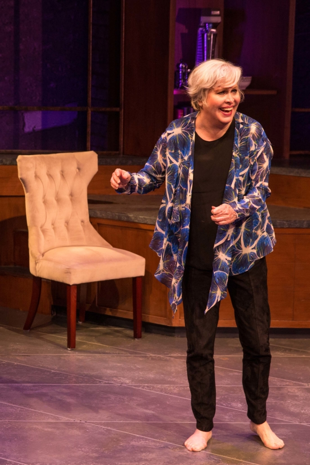 Tony nominee Nancy Opel stars in The Curvy Widow, directed by Peter Flynn, at the Westside Theatre.