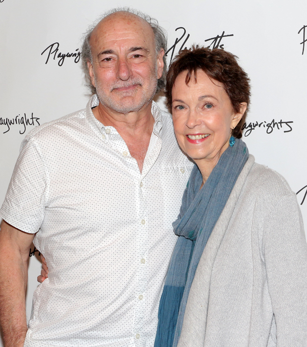 Peter Friedman and Deanna Dunagan star in The Treasurer.