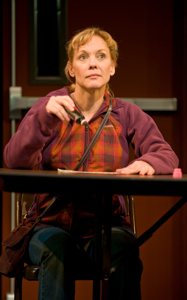Mariann Mayberry in Steppenwolf's production of Good People.