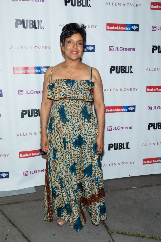 Phylicia Rashad stars as xx in the Shakespeare in the Park production of A Midsummer Night's Dream, directed by Lear deBessonet.