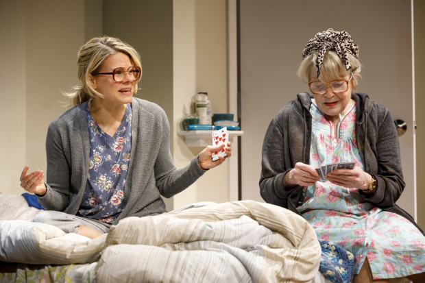 Celia Keenan-Bolger and Anita Gillette star in Bruce Norris's A Parallelogram at Second Stage Theatre.