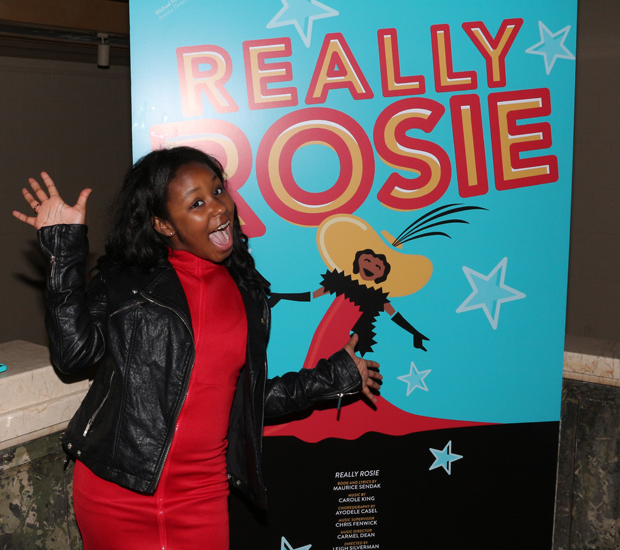 Taylor Caldwell stars in the Encores! Off-Center production of Really Rosie by Maurice Sendak and Carole King.