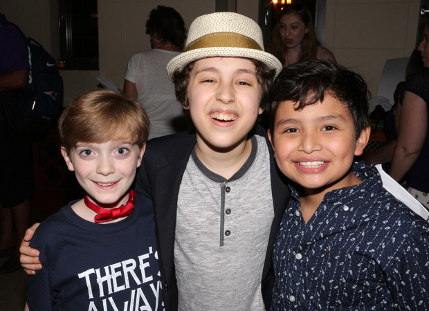 Zell Steele Morrow, Anthony Rosenthal, and Eduardo Hernandez are featured in the musical.