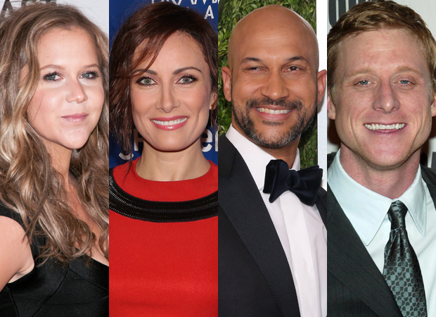 Amy Schumer, Laura Benanti, Keegan-Michael Key, and Alan Tudyk will star in Steve Martin's Meteor Shower on Broadway.