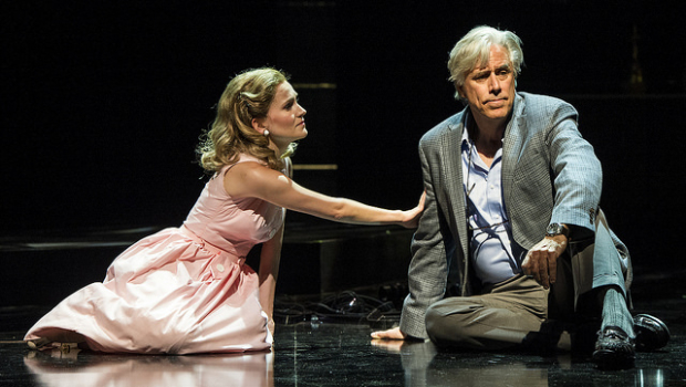 Lora Lee Gayer and Jeff McCarthy in A Legendary Romance, directed by Lonny Price, at Williamstown Theatre Festival.