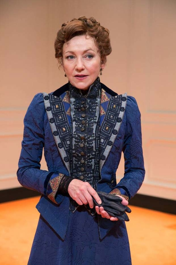 Julie White stars as Nora.
