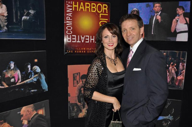 Tamara Jenkins and Jay Montgomery, founders of Staten Island's Harbor Lights Theater Company.