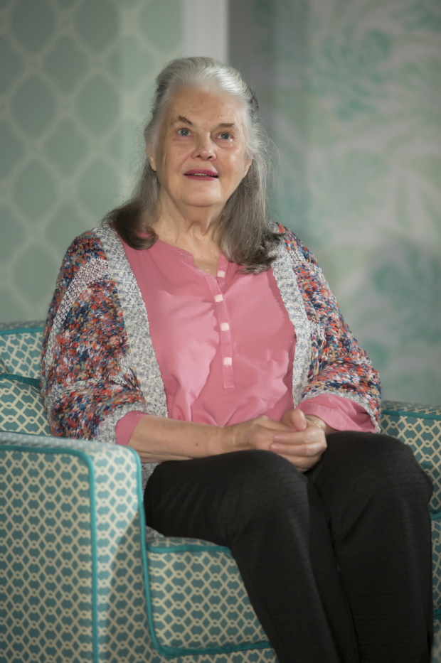 Lois Smith in the 2015 Playwrights Horizons production of Jordan Harrison's Marjorie Prime, directed by Anne Kauffman.