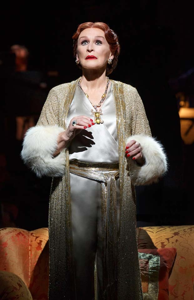 Glenn Close as Norma Desmond in the 2017 Broadway revival of Sunset Boulevard.