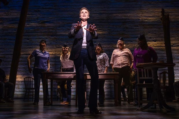 Jenn Colella and the cast of Broadway's Come From Away, joining BroadwayCon 2018.