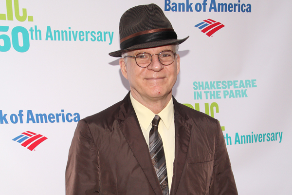 Steve Martin is the writer of the new Broadway comedy, Meteor Shower.