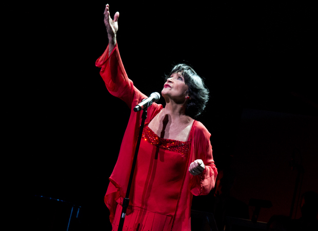 Chita Rivera on stage in 2013.