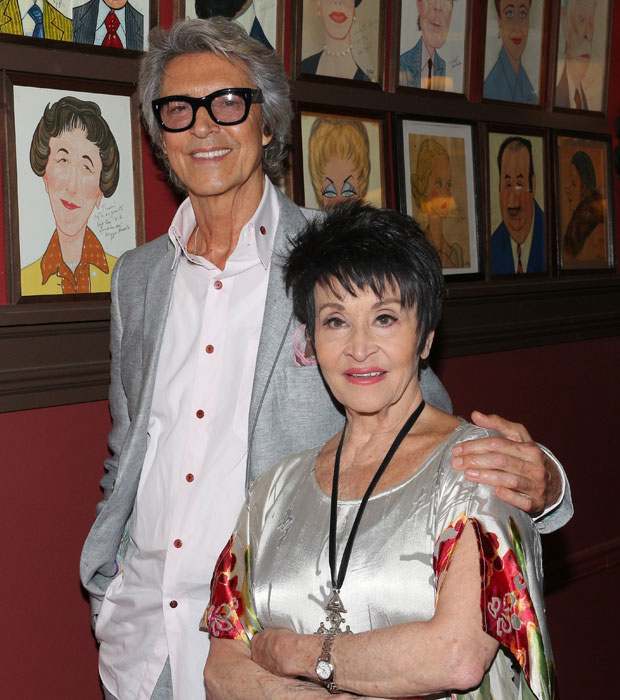 Chita Rivera with Tommy Tune in 2017.