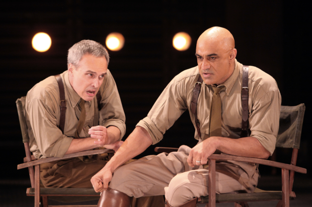A scene from the Shakespeare Theatre Company production of Othello, directed by Ron Daniels.