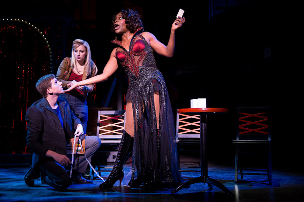 Stark Sands, Annaleigh Ashford, and Billy Porter appeared in the original Broadway cast of Kinky Boots.