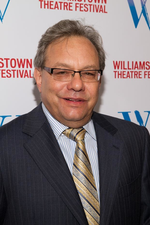 Lewis Black will be participating in a talkback after the October 12 performance of Scott Carter's The Gospel According to Thomas Jefferson, Charles Dickens and Count Leo Tolstoy: Discord.