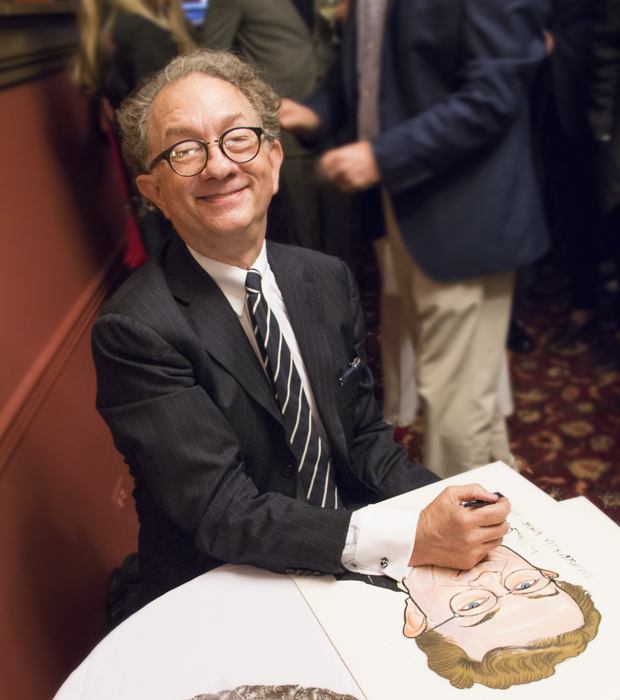 William Ivey Long smiles for the camera.