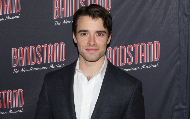 Corey Cott plays his final performance in Broadway's Bandstand on September 17.