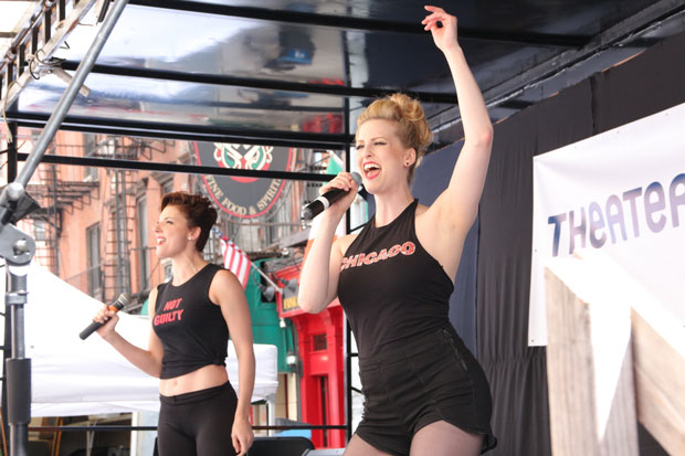 Broadway's Chicago will perform at TheaterMania's street fair this year.